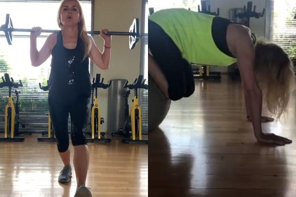 Monika Olejnik - treningowa rutyna