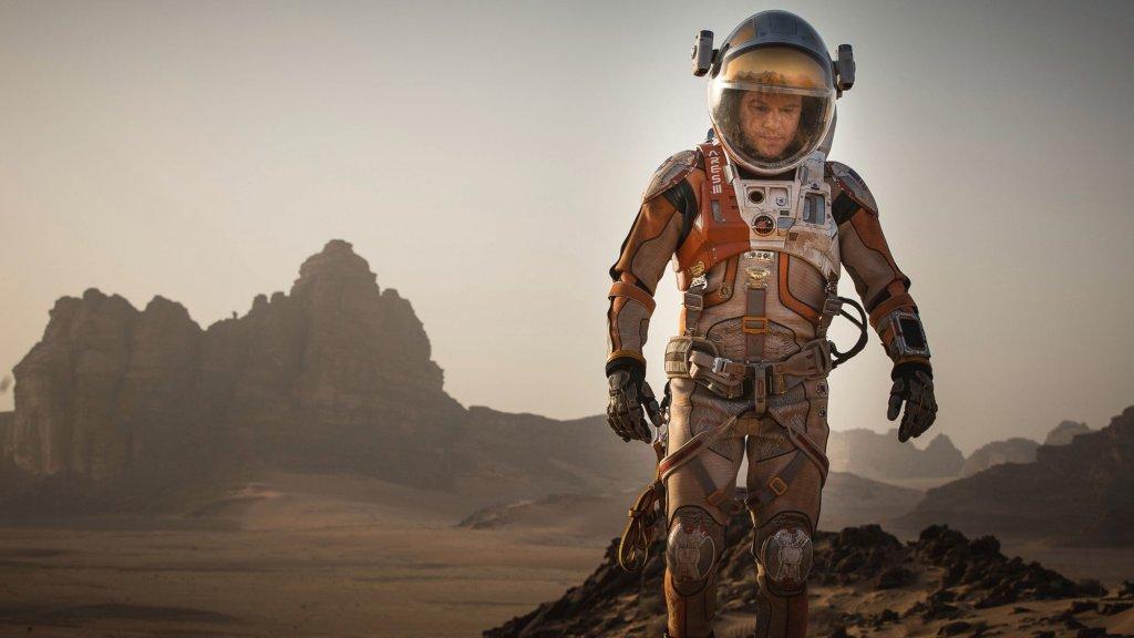 'Marsjanin' - reżyseria Ridley Scott, w roli głównej Matt Damon