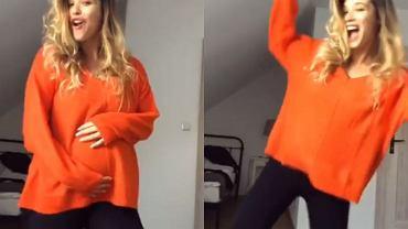 Maria Konarowska w ciąży