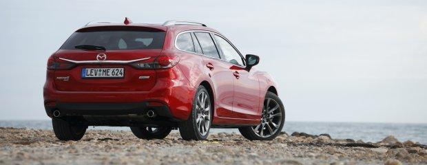 Mazda 6 2.2 Skyactiv-D AWD FL   Pierwsza jazda   Zmiany dla spostrzegawczych