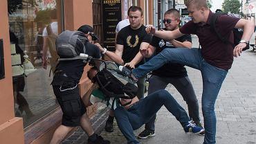 Bójka na manifestacji w rocznicę radomskiego Czerwca '76