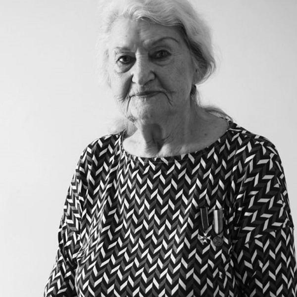 Jadwiga Gawrych, jedna z bohaterek książki Anny Herbich 'Dziewczyny sprawiedliwe'