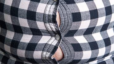 Otyłość brzuszna, nazywana też centralną, trzewną, androidalną, otyłością typu jabłka, otyłością typu męskiego jest przewlekłą chorobą, która cechuje się patologicznym nagromadzeniem tkanki tłuszczowej w obrębie brzucha i klatki piersiowej.