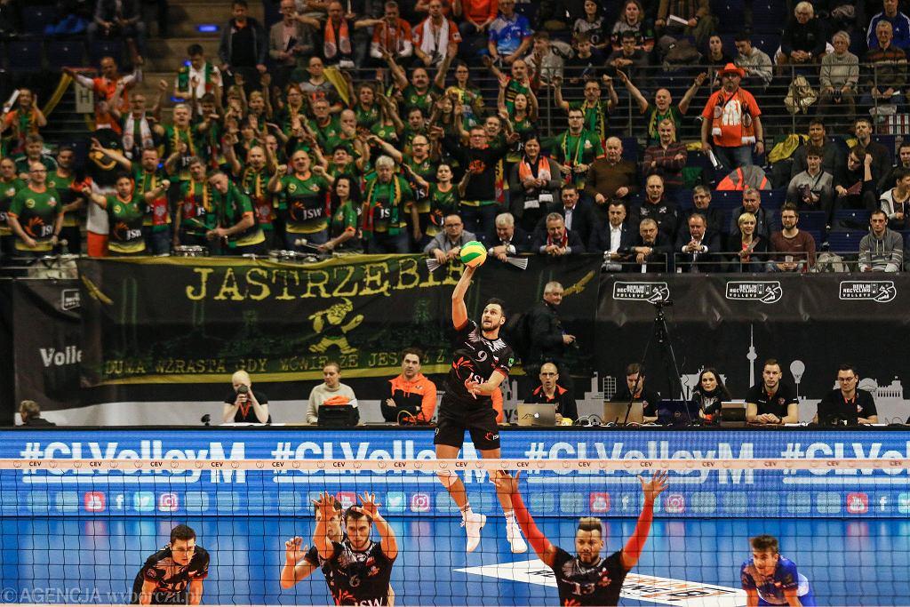 Jastrzębski Węgiel awansował w Berlinie do kolejnej rundy Ligi Mistrzów
