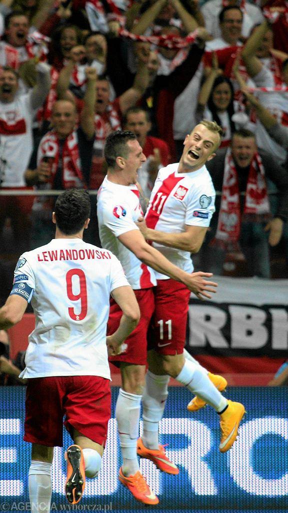 Arkadiusz Milik, jeden z bohaterów meczu Polska - Niemcy