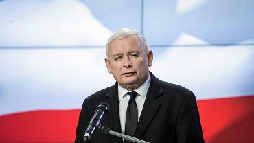 Prezes PiS Jarosław Kaczyński. Zdjęcie ilustracyjne