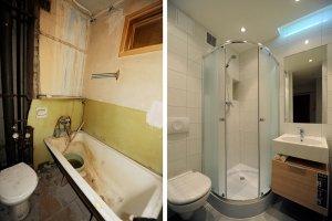 Półki W łazienkach Z Kafelek Budowa Projektowanie I