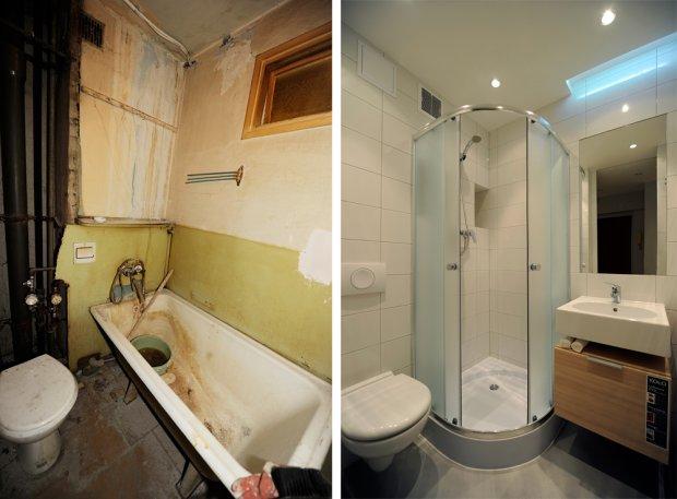 12 spektakularnych metamorfoz waszych łazienek