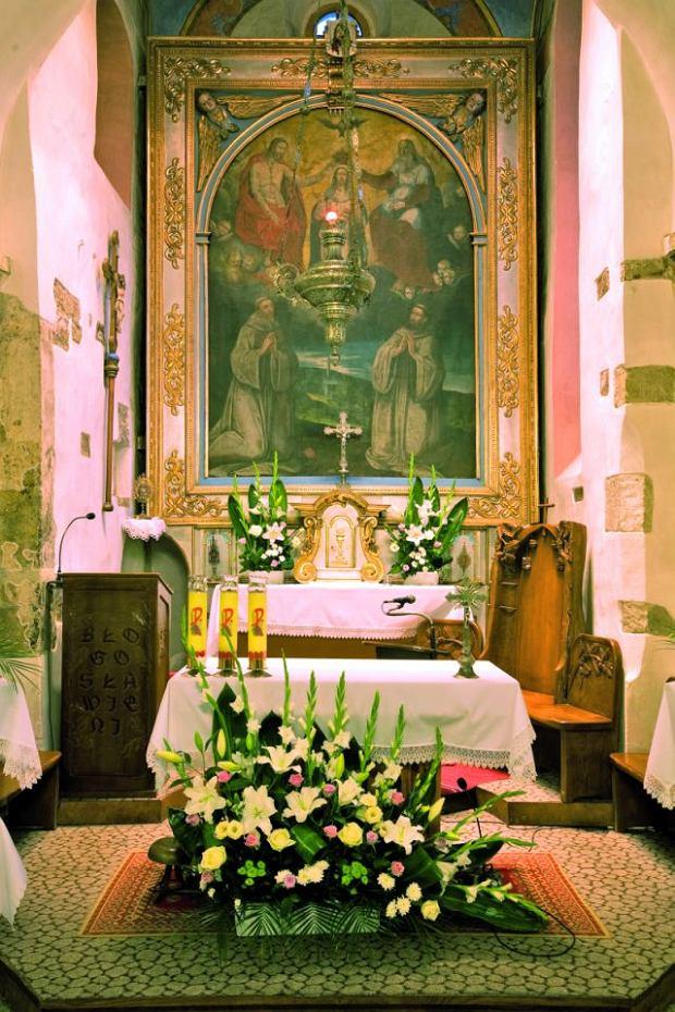 Tropie - wnętrze kościoła / fot. Tomasz Fedor