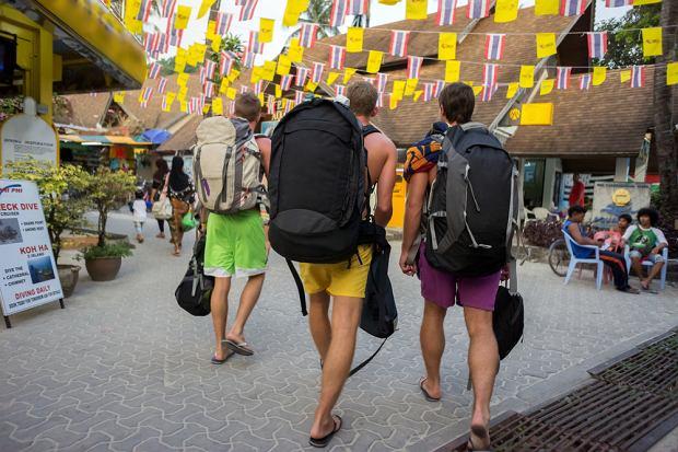 Podróżnicy w Tajlandii
