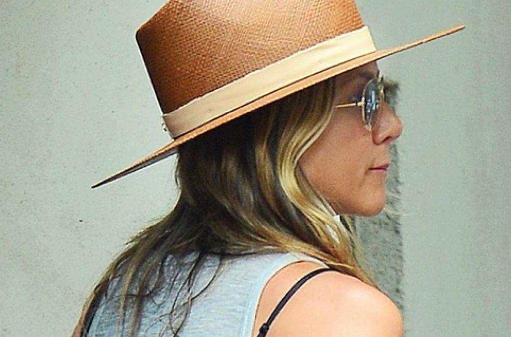 Jennifer Aniston w szortach