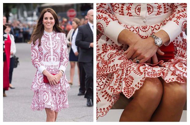 Zdjęcie numer 2 w galerii - Robimy przegląd stylizacji księżnej Kate. Też zwróciliście uwagę na tych kilka szczegółów?