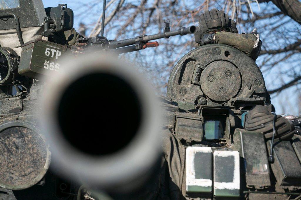 Prorosyjscy rebelianci na Ukrainie