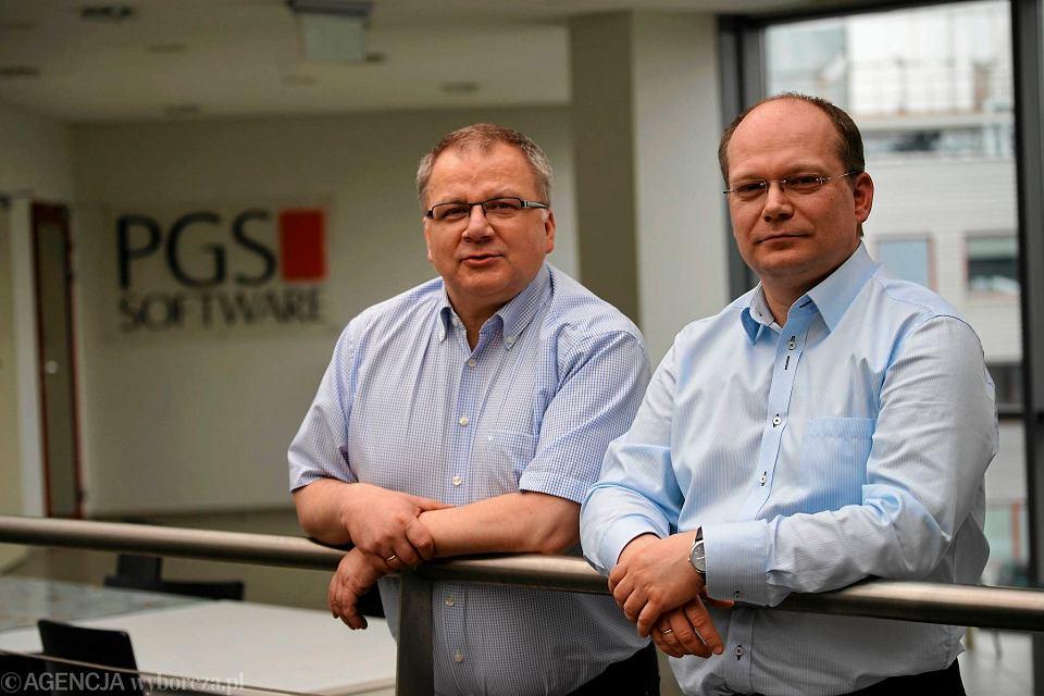 Paweł i Wojciech Gurgul, twórcy PGS