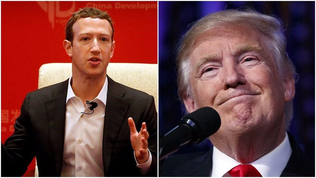 Trump vs Zuckerberg