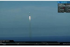 Polski satelita poleciał rakietą Elona Muska. Ma pomóc posprzątać kosmiczne śmieci