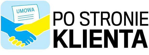 Logo akcji 'Po stronie klienta'