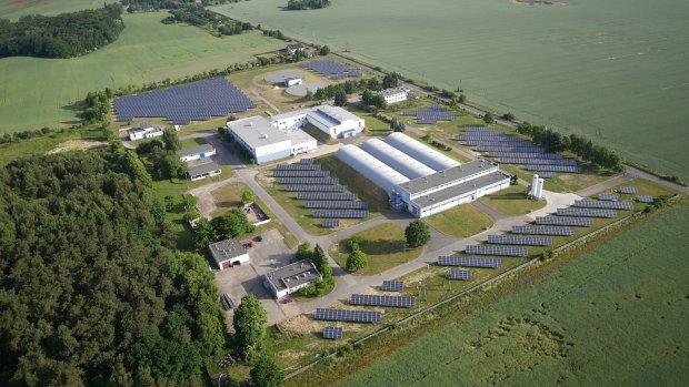 Farma fotowoltaiczna na terenie Zakładu Produkcji Wody