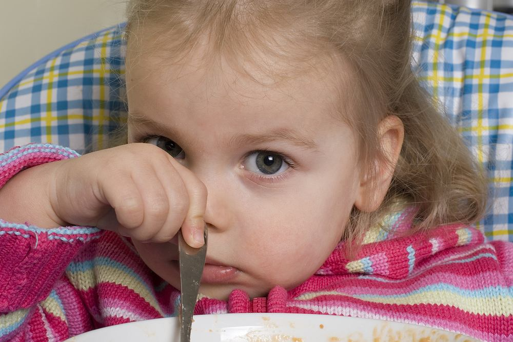 Chore dziecko często nie ma apetytu