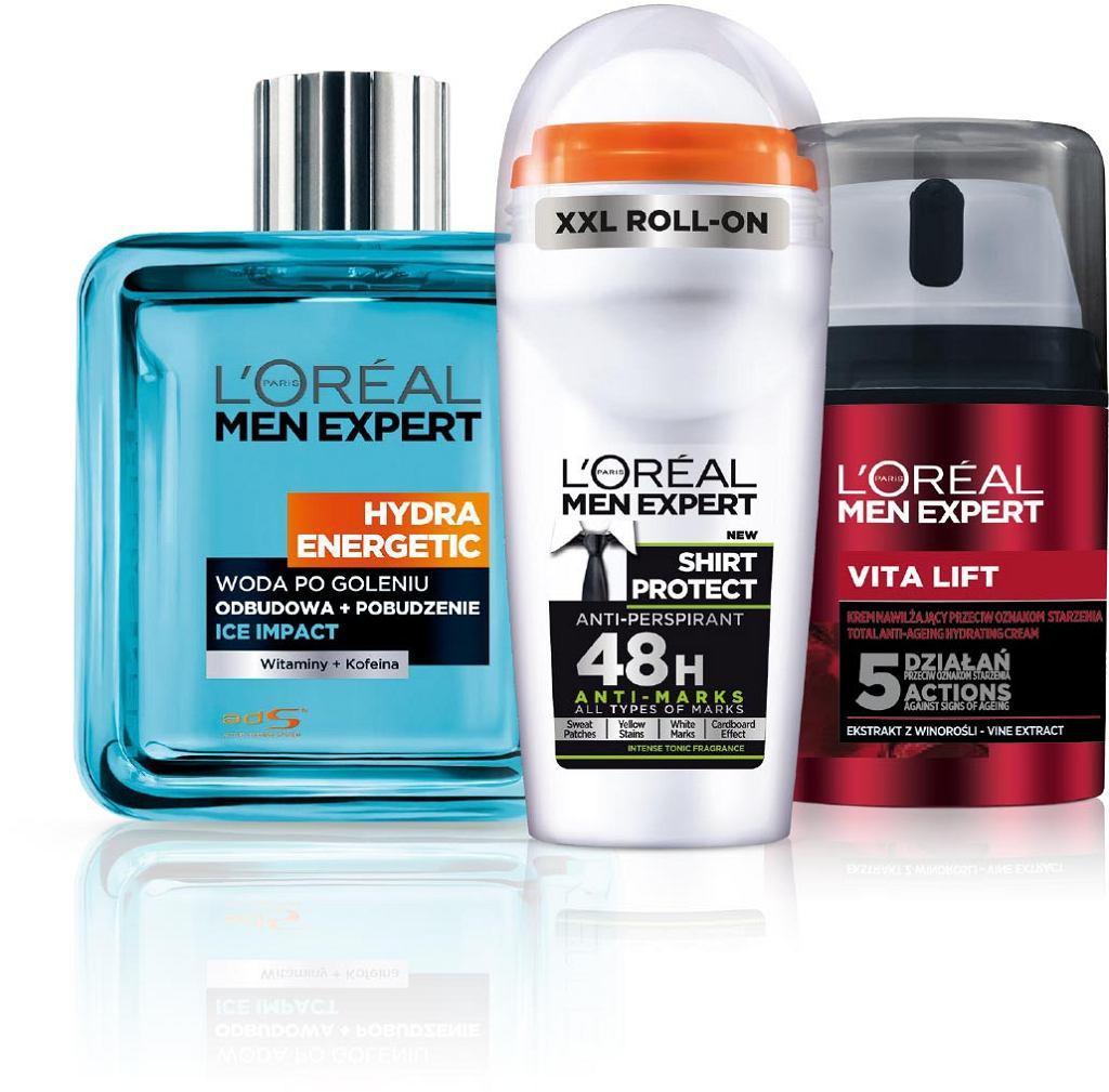 Kosmetyki L'Oreal dla mężczyzn