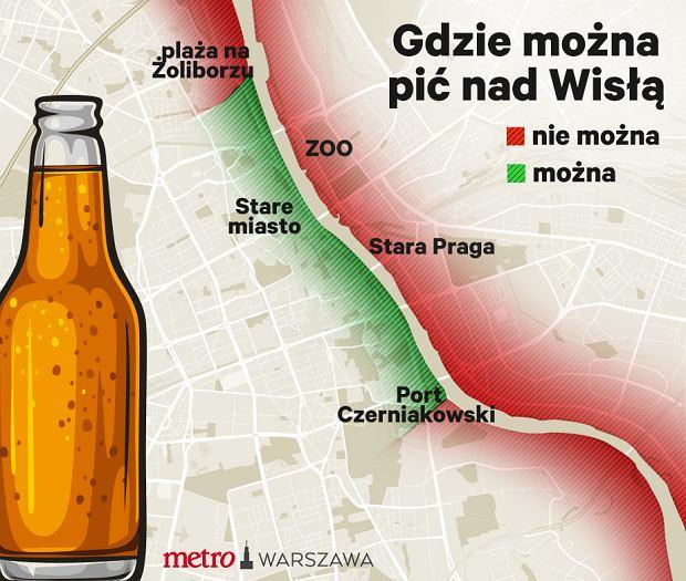 Gdzie można pić alkohol w Warszawie