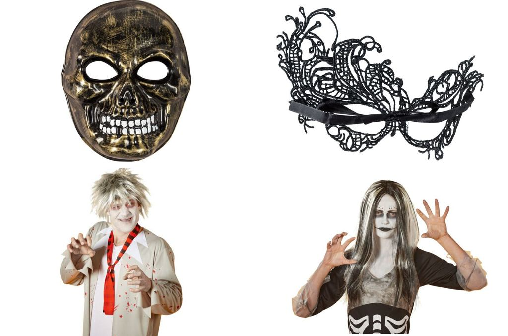 Lidl. Rekwizyty na Halloween: maski i peruki