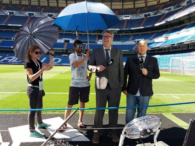 8 km kabli, 27 kamer, 150 ludzi pod sobą - dzięki Polce oglądamy mecze La Liga