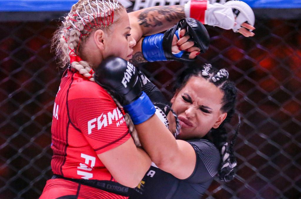 FAME MMA 5. Ewelina Kubiak i Esmeralda Godlewska