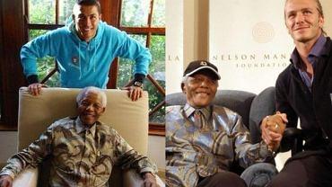 Nelson Mandela z gwiazdami