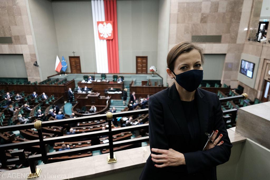 Kandydatka na urząd Rzecznika Praw Obywatelskich Zuzanna Rudzińska - Bluszcz