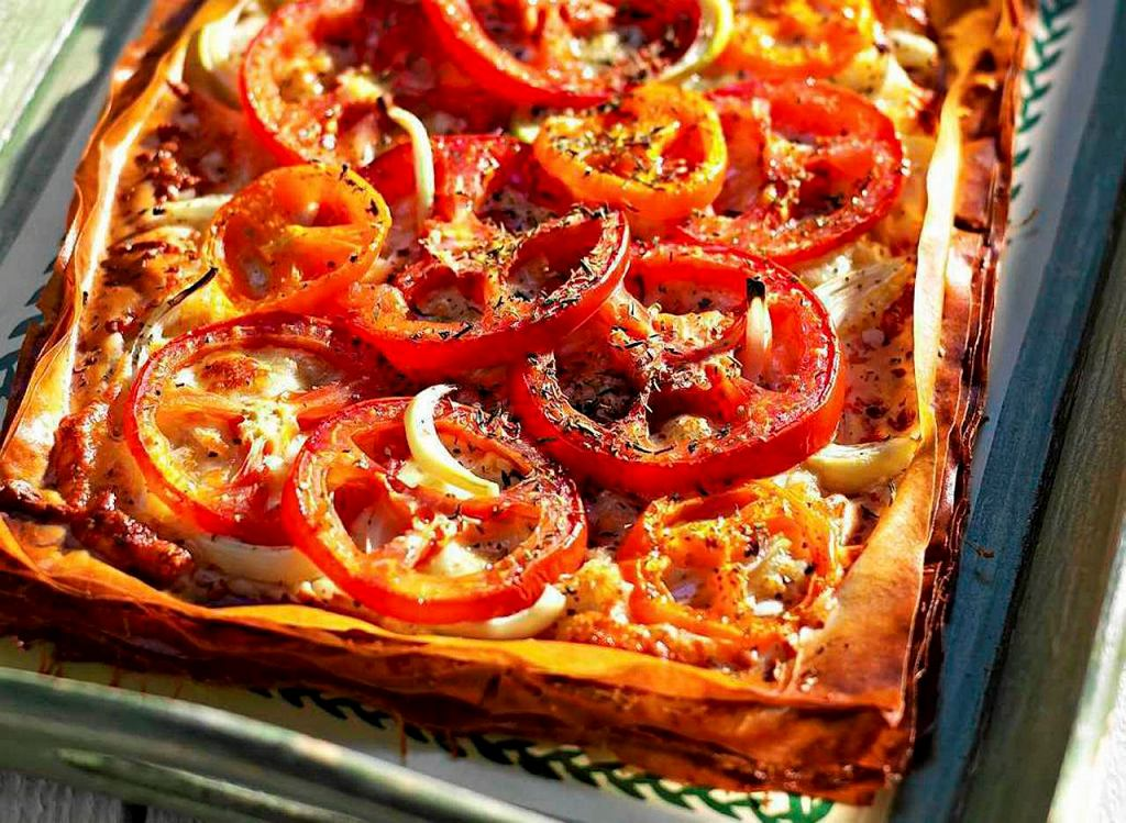 Pizza na cieście filo