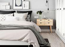 Sypialnia Pomaluj Nieszablonowo ścianę Za łóżkiem