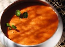 Zupa z pieczonych pomidorów - ugotuj