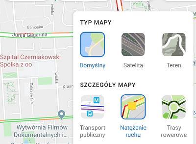 aplikacja Google Maps