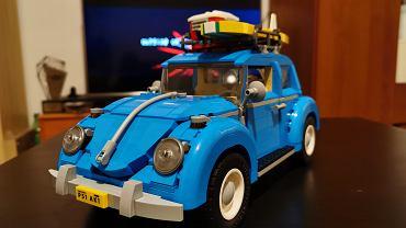 VW Beetle z klocków LEGO