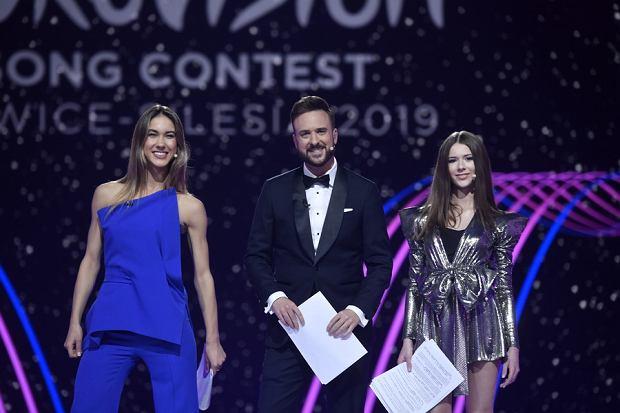 Ida Nowakowska, Roksana Węgiel, Aleksander Sikora, Eurowizja Junior 2019 próba