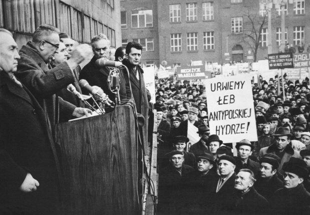 Wydarzenia marca 1968 w Warszawie
