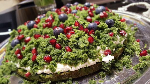 Jak zrobić ciasto szpinakowe leśny mech?
