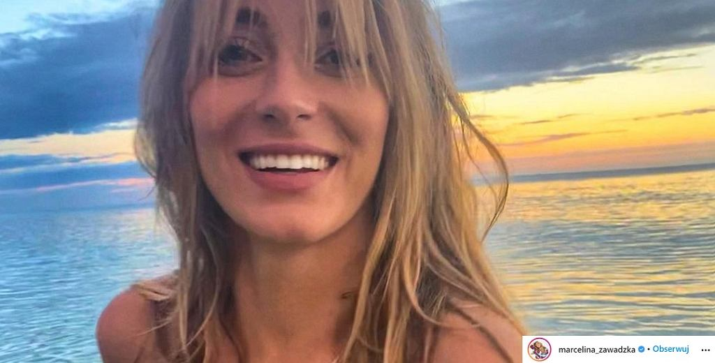 Marcelina Zawadzka pokazała się w bikini. Odważnymi zdjęciami rozgrzała Instagram