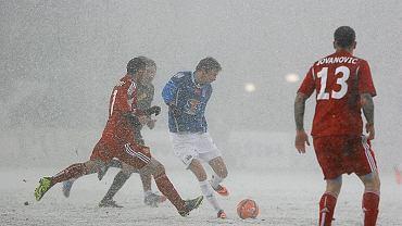 Lech Poznań - Wisła Kraków 2:0. Kasper Hamalainen