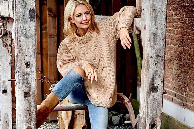 Swetry i spodnie z wyprzedaży Marks&Spencer