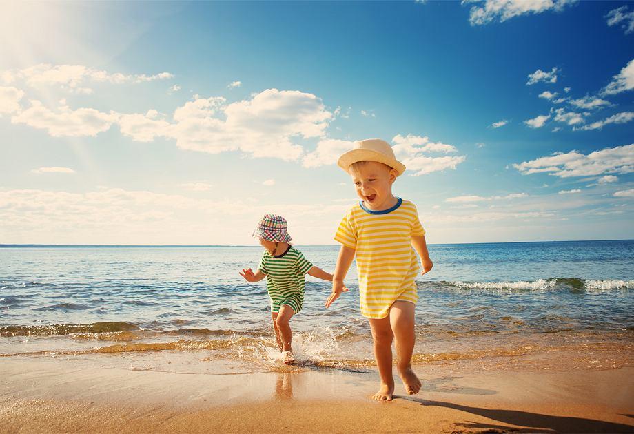 Dziecięca moda plażowa