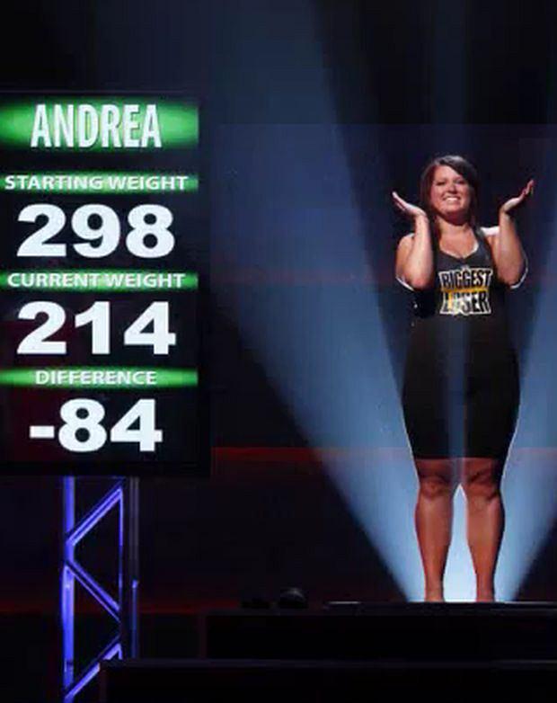 The Biggest Loser, Andrea