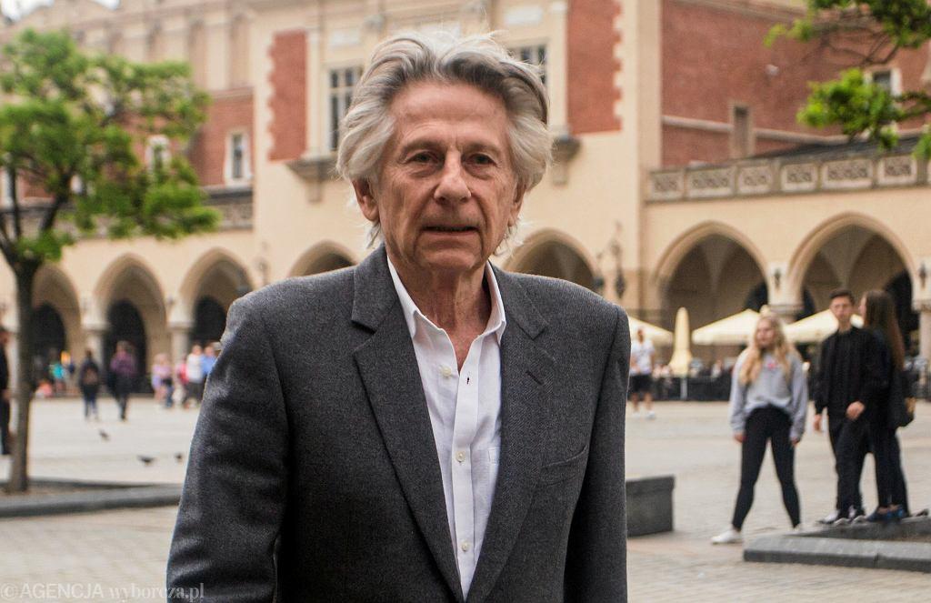 Roman Polański podczas festiwalu Off Camera. Kraków, 2 maja 2018