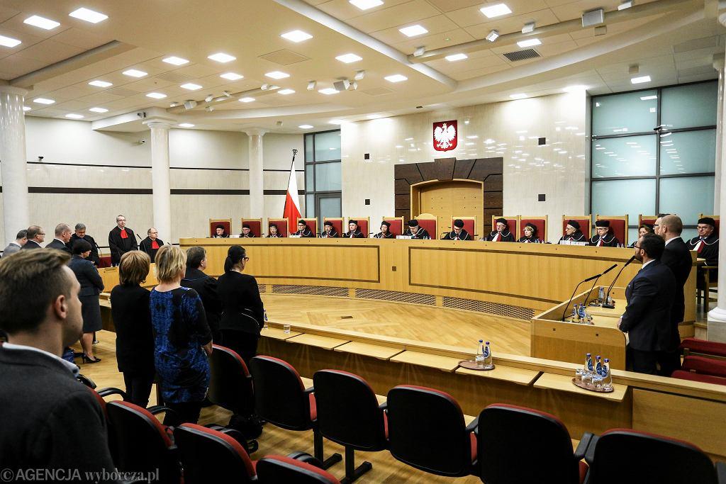 4.11.2015, Trybunał Konstytucyjny orzeka w sprawie OFE.
