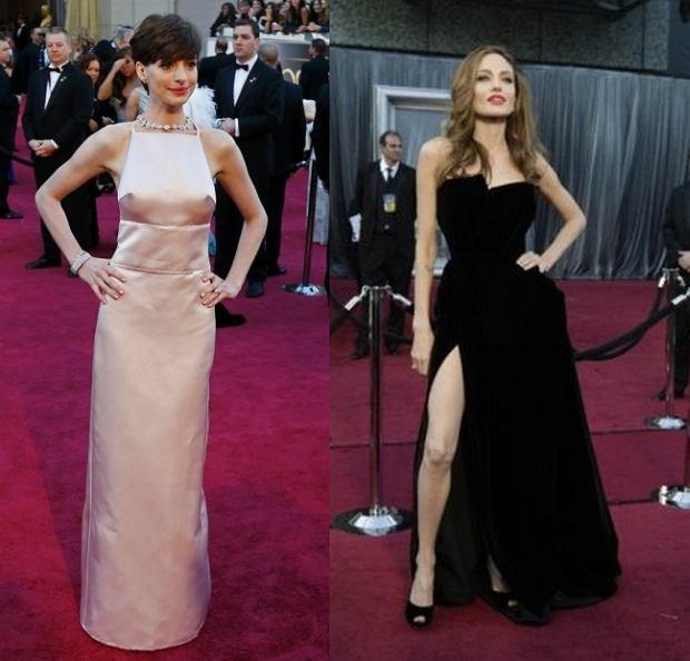 Anne Hathaway, Angelina Jolie, Oskary