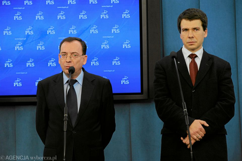 Mariusz Kamiński i Ernest Bejda