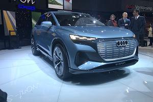 Genewa 2019 - nadchodzi Audi Q4 e-tron, elektryczny miejski SUV klasy premium