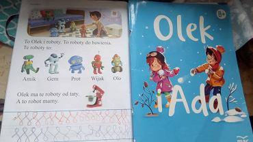 Książka 'Olek i Ada' jest przeznaczona do edukacji sześciolatków