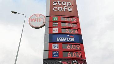Ceny paliw 13.10.2021, Występa